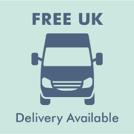 Free delivery on all orders: UK mainland only